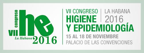 VII Congreso Higiene y Epidemiología 2016